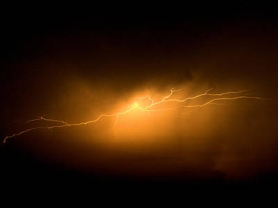 Port Dickson Photograph - Lightning At Dawn by Faizul Ramli