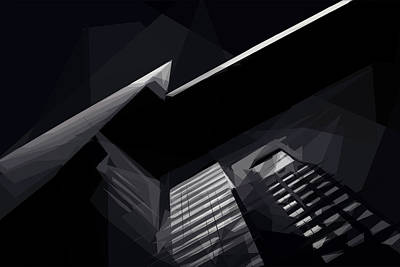 Digital Art - Lightning Bolt by ISAW Company
