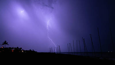 Photograph - Lightning Catamarans Delray Beach Florida by Lawrence S Richardson Jr
