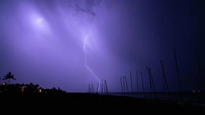Photograph - Lightning Catamarans Delray Beach Florida by Lawrence S Richardson Jr
