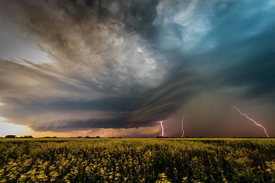 Photograph - Lightning Crashes by DLP Squared Photography