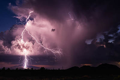 Lightning Photograph - Lightning by John Sirlin