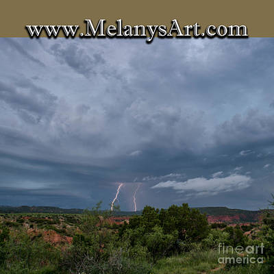 Photograph - Lightning by Melany Sarafis