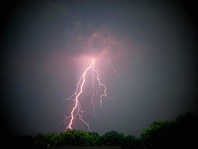 Photograph - Lightning Over Hukari by Trish Tritz