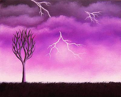Lightning Scars Original by Rachel Bingaman
