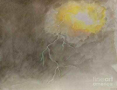 Painting - Lightning by Stacy C Bottoms