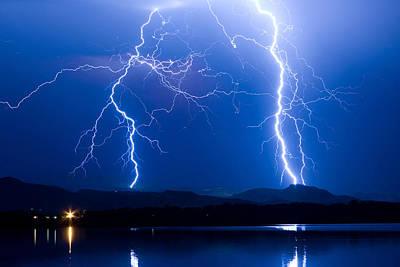 Colorado Photograph - Lightning Storm 08.05.09 by James BO  Insogna
