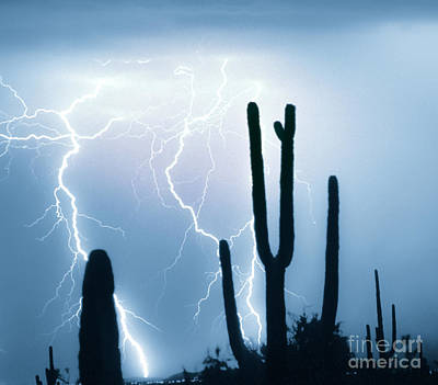 Lightning Storm Chaser Payoff Art Print by James BO  Insogna