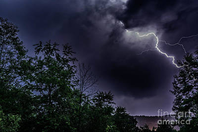 Photograph - Lightning Strike by Thomas R Fletcher