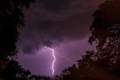 Photograph - Lightning by Terry Shoemaker