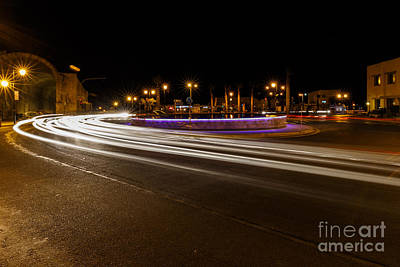 Photograph - Lightrails by Antonis Androulakis