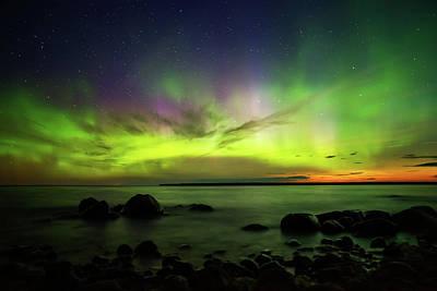 Photograph - Lights 2 by Stuart Deacon