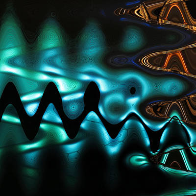 Digital Art - Lights-3 by Man Chong
