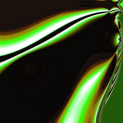 Digital Art - Lights-4 by Man Chong