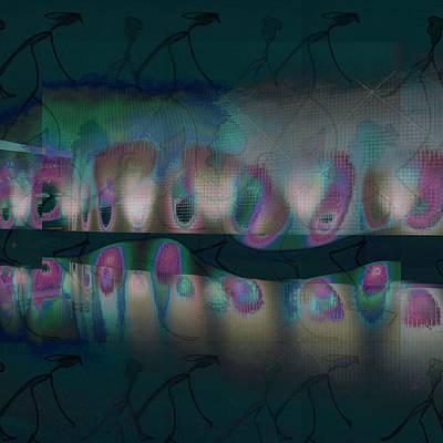 Digital Art - Lights-7 by Man Chong