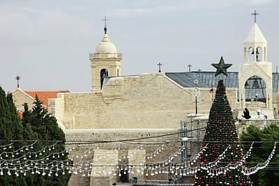 Photograph - Lights And Christmas Tree by Munir Alawi