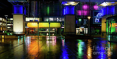 Photograph - Lights And Reflections by Colin Rayner