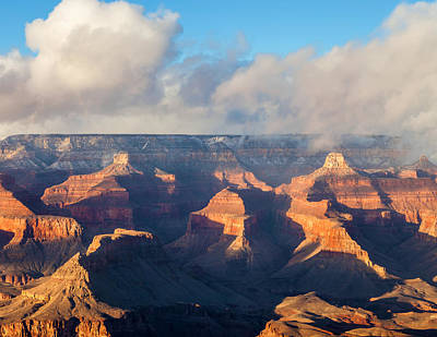 Photograph - Lights And Shadows In The Canyon by Jonathan Nguyen