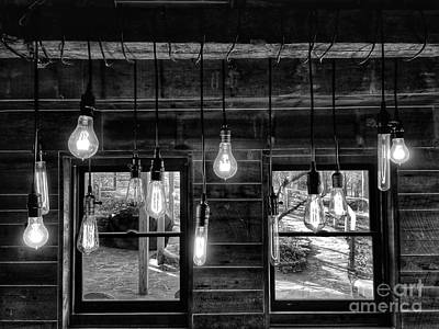 Photograph - Lights And Windows 2 by Rachel Hannah