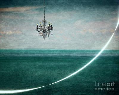 Digital Art - Lights At Sea by Edmund Nagele