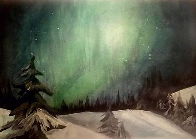 Painting - Lights by Carole Hutchison