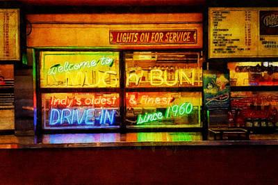 Digital Art - Lights On For Service by Sandy MacGowan
