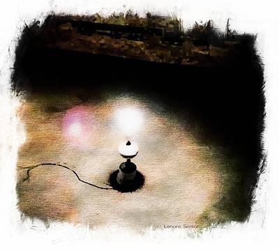 Digital Art - Lights In Strange Places by Lenore Senior