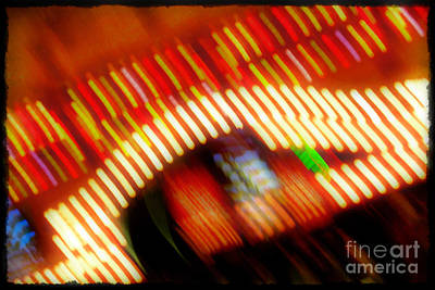 Photograph - Lights In The Casino by Judi Bagwell