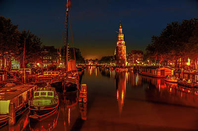 Photograph - Lights Of Amsterdam by Francesco Ronge