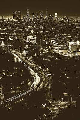 Photograph - Lights Of Los Angeles by Unsplash