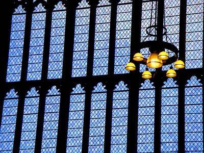 Lights Of Parliament Art Print by Roberto Alamino