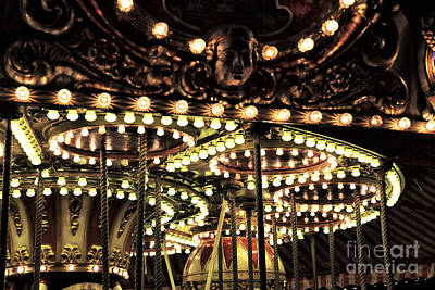 Photograph - Lights Of The Carousel by John Rizzuto