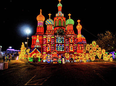 Photograph - Lights Of The World Russia by C H Apperson