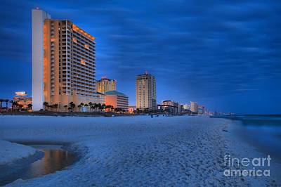 Photograph - Lights On At Panama City Beach by Adam Jewell
