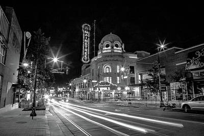 Photograph - Lights On Main In Kansas Ctiy by Steven Bateson