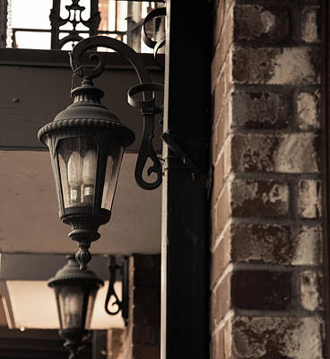 Photograph - Lights On Main St by Wendy Carrington