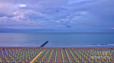 Photograph - Lights On The Sea by Cristian Ferronato