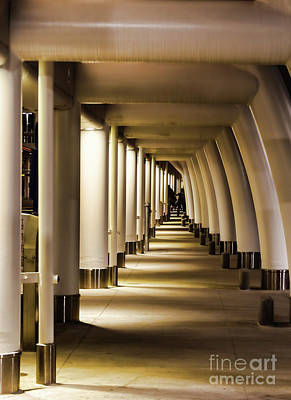 Photograph - Lights Shadows And Arches by Steven Parker