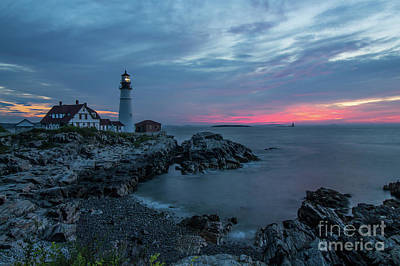 Portland Lighthouse Photograph - Light's Triumph by Jeremy Dufault