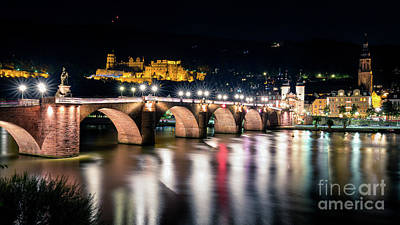Photograph - Lights Under The Bridge by Giuseppe Torre