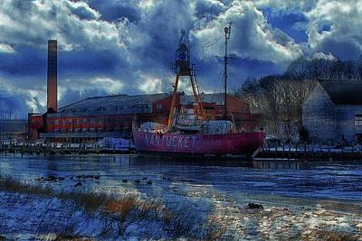 Photograph - Lightship Nantucket II Art by Constantine Gregory