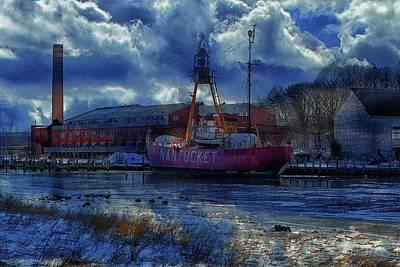 Photograph - Lightship Nantucket II Art by Constantine Gregory