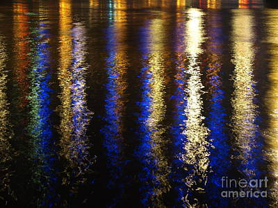 Photograph - Lightup Pgh by Mary Kobet