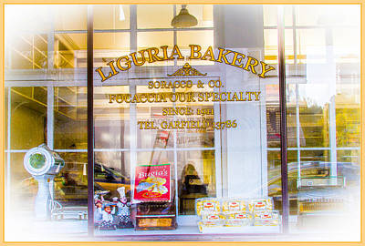 Photograph - Liguria Bakery Window North Beach by Bonnie Follett