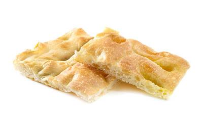 Photograph - Ligurian Focaccia Bread by Fabrizio Troiani