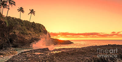Photograph - Lihu'e Sunrise by Gary Beeler