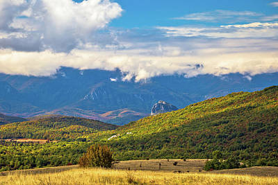 Photograph - Lika Region Landscape Autumn View by Brch Photography