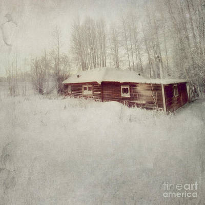 Old Cabins Photograph - Like A Book With Blank Pages by Priska Wettstein