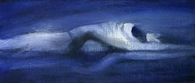Painting - Like A Dolphin by Jarmo Korhonen aka Jarko
