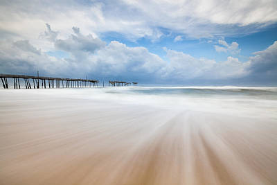Frisco Pier Photograph - Like A Dream Into The Unknown by Mark VanDyke